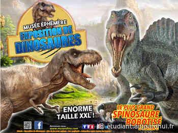 """Le Musée Ephémère présente """"Les Dinosaures"""" - FOIRE DU DAUPHINE, Romans Sur Isere, 26100 - Sortir à France - Le Parisien Etudiant"""
