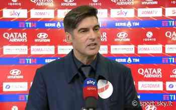 """Roma-Parma, Fonseca: """"Grande identità, vittorie come queste ci rendono più forti"""" - Sky Sport"""