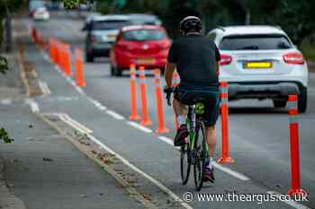 Work to remove Horsham and Worthing cycle lanes starts today - The Argus