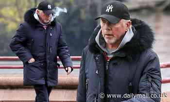 Boris Becker appears downcast the day after his 53rd birthday as he puffs on a cigarette
