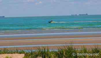 Aguas verdes en Punta Lara - Diario Hoy