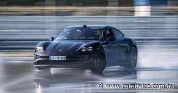 Porsche Taycan sets world record for longest electric vehicle drift