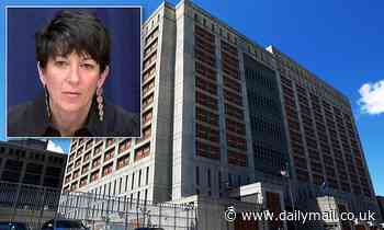 Jailed Ghislaine Maxwell is in quarantine after guard tests positive for COVID-19