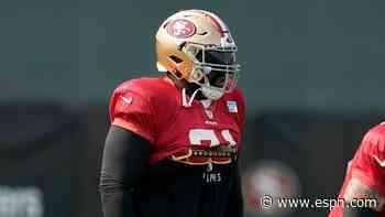San Francisco 49ers left tackle Trent Williams tests positive for coronavirus - ESPN