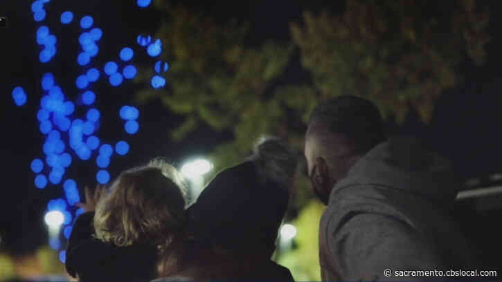 Walmart Sets Free December 'Holiday Light Drone Show' In Sacramento