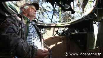 """La saison de la chasse a commencé pour Jacques Morlaas : """"La palombière, c'est son jardin, toute sa vie"""" - ladepeche.fr"""