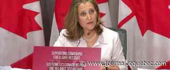 Bientôt l'heure juste sur les coûts de la pandémie à Ottawa