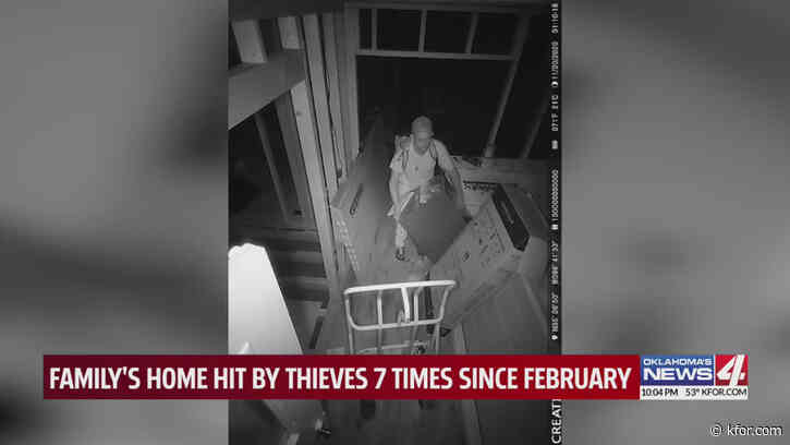 Rural Pottawatomie County couple's renovation home broken into 7 times in 10 months