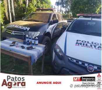 Operação conjunta apreende drogas e prende dois homens em Tapira - Patos Agora