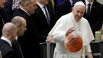 Pope Francis Hosts NBA Players to Talk Social Justice - Rush Limbaugh
