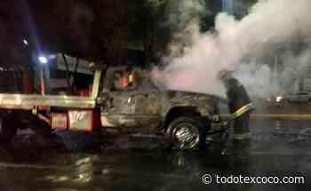 #Violencia en Atizapan de Zaragoza, chocan taxistas,, grueros y gaseros queman vehículos - Noticias de Texcoco