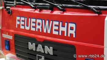 Mann stirbt bei Hausbrand in Rangsdorf in Teltow-Fläming - rbb24