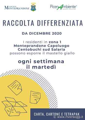 Differenziata, a Monteprandone e Centobuchi si amplia il servizio di raccolta della carta - Riviera Oggi