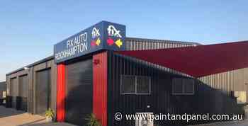 Fix Auto Rockhampton finishes rebrand - Paint and Panel
