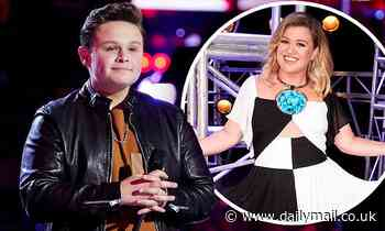 The Voice: Kelly Clarkson wipes away tears as Carter Rubin, 14, moves her with emotional cover