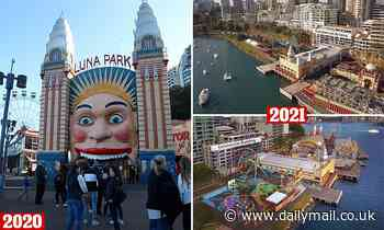 Sydney's Luna Park to get nine new rides, including a newThe Big Dipper, in $30million upgrade