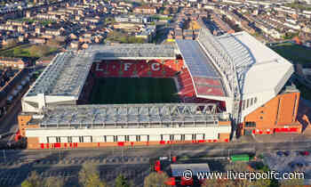 Update on fans returning to Anfield
