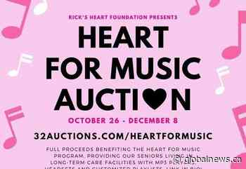 Global BC supports Heart for Music: Online Auction