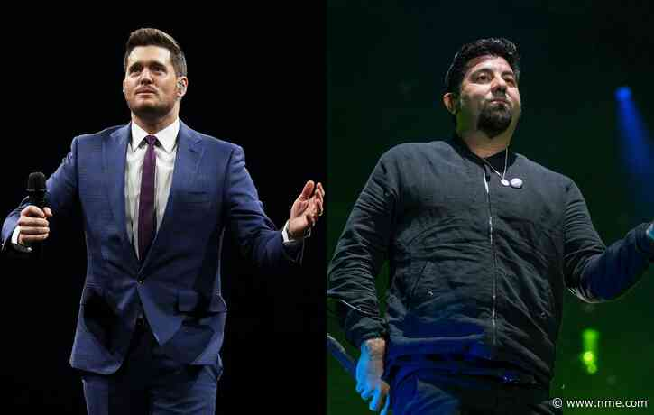 Michael Bublé is a huge fan of Deftones' new album 'Ohms'