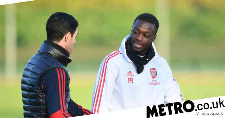 Mikel Arteta to hold private meeting with Nicolas Pepe as misgivings over Arsenal's record signing grow