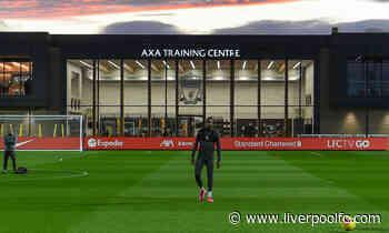 Live: Watch Reds prepare for Atalanta at AXA Training Centre