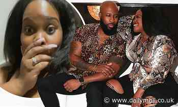 Glee's Amber Riley is ENGAGED to beau Desean Black one month after going public with their romance