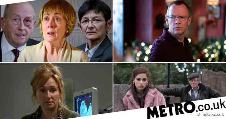 12 soap spoiler pictures: Coronation Street Elaine's fate revealed, EastEnders Ian death horror, Emmerdale pregnancy, Hollyoaks Silas danger