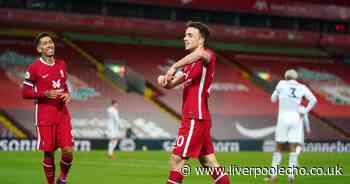 Liverpool fans debate meaning behind Jota's goal celebration