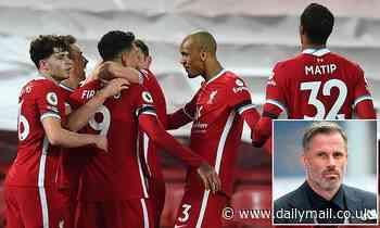 Jamie Carragher hails the 'leadership' shown by Jurgen Klopp's Liverpool