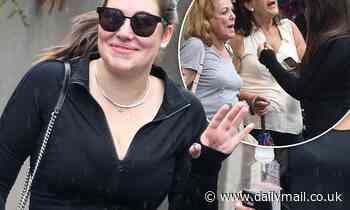 Francesca Packer-Barham celebrates her 26th birthday with a workout