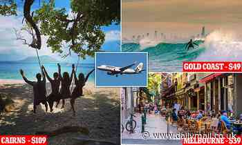 Jetstar and Qantas launch HUGE sale with after Queensland opened its borders with NSW and Victoria