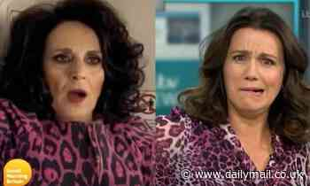 Piers Morgan playfully compares co-host Susanna Reid to Birds of a Feather's Dorien Green