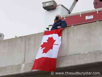 Photos: Sudbury pays tribute to Const. Hovingh
