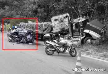 Festivo fatal: Un muerto y cuatro heridos tras impresionante accidente en Guaduas - HSB Noticias