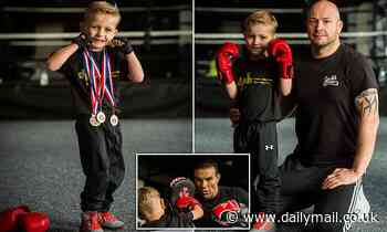 Five-year-old boxer already has FIVE world records and counts David Haye among his fans