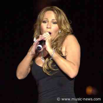Mariah Carey back on the U.S. charts with Christmas classic