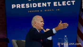 5 things to know for November 24: Biden, coronavirus, Nigeria, China, emissions - CNN