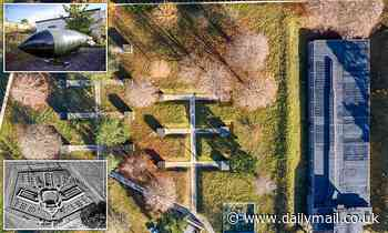 Cold War nuclear weapons base where Britain kept hydrogen bombs in new drone photos