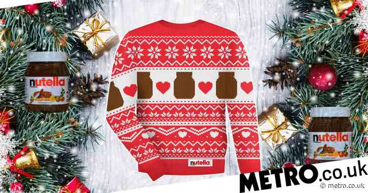 You could be in with a chance to win a Nutella Christmas jumper