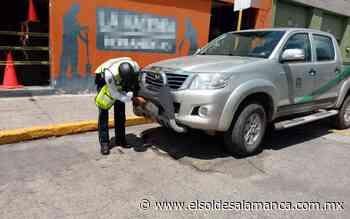 Generan problemas viales los motociclistas irresponsables en Valle de Santiago - El Sol de Salamanca