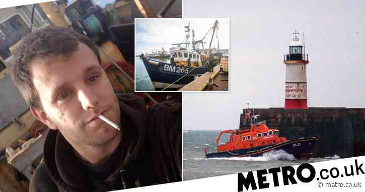 Body found in search for missing fishermen after boat sinks in Channel