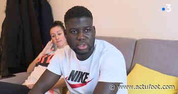Ansou Sene (Pluvigner) donne de ses nouvelles sur France 3 - Actufoot