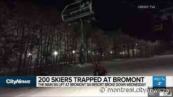 200 skiers trapped at Bromont - Video - CityNews Montreal