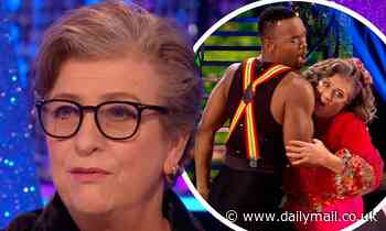 Strictly's Caroline Quentin defends LICKING partner Johannes Radebe during their dance