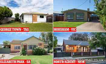 Australian suburbs where weekly mortgage bills are less than $250