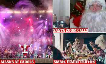 Christmas during Coronavirus: Zoom calls with santa, no carol concerts and festive feasts delivered