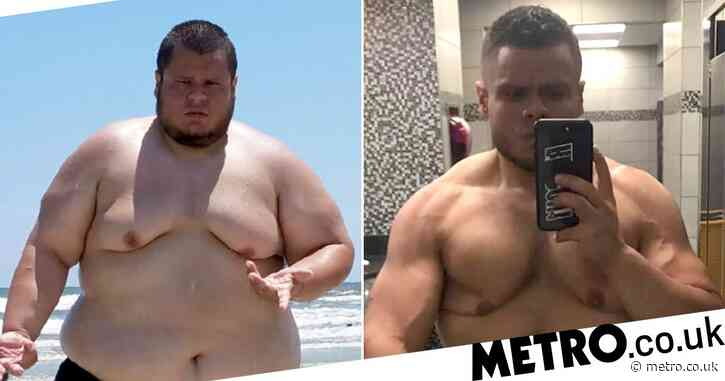 Man who says he 'wasn't living, just existing' loses 20 stone naturally