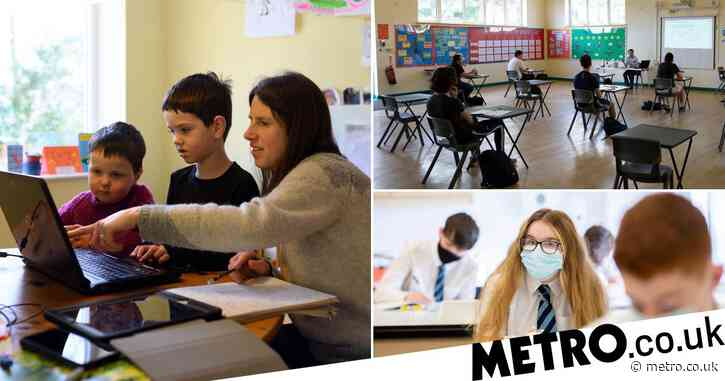 School attendance figures drop as more than 20% of pupils forced to self-isolate