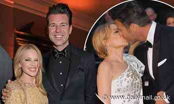 Kylie Minogue admits she got a 'magical feeling' after meeting her boyfriend Paul Solomons