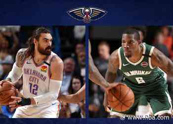 Pelicans acquire Steven Adams, Eric Bledsoe in four-team trade